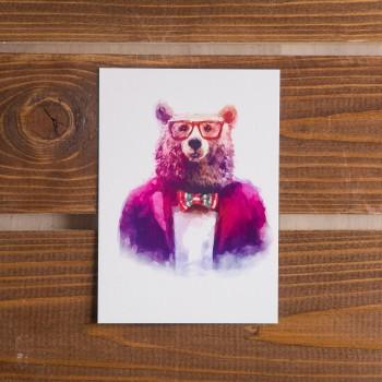 "Открытка ""Мистер Медведь"""
