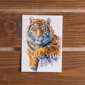 """Открытка """"Тигр"""""""