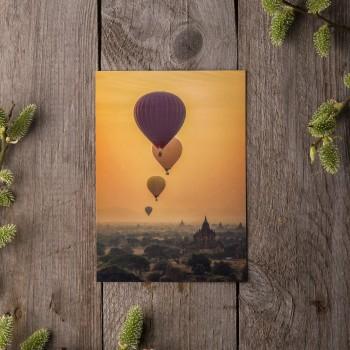 """Открытка """"Воздушные шары"""""""