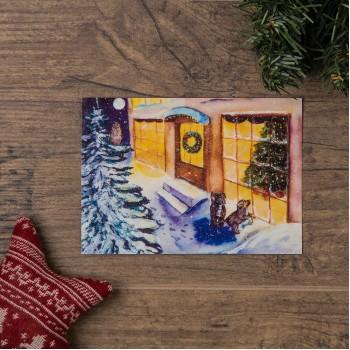 """Открытка """"Перед Рождеством"""""""