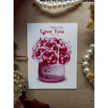 """Мини-открытка """"Love You"""""""
