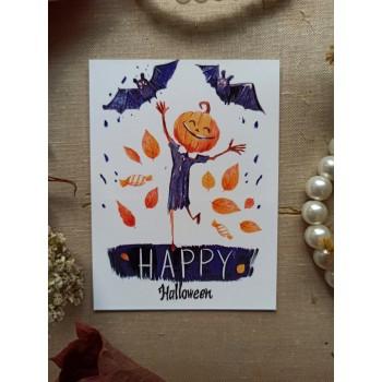 """Мини-открытка """"HAPPY Halloween"""""""